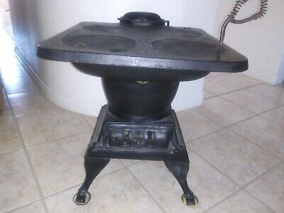 Antique Pot Belly Stove-Cast Iron #48 Local Pickup