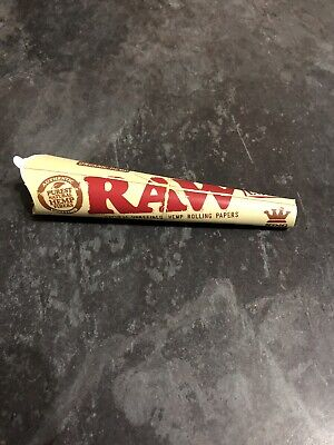 Raw Organic Hemp Cones - King Size Slim Pre Rolled Papers - 3 Cones/Pack