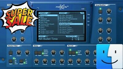 ReFX Nexus Vst plugin 🔥For Mac OS X✔️ Instant Email Delivery 30s📥