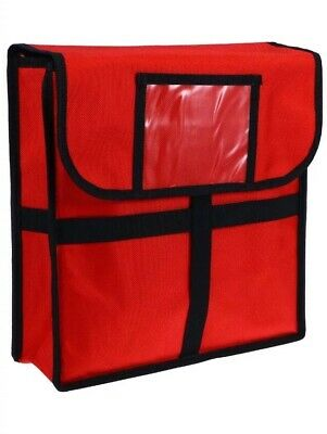 ROSENICE Insulated Thermal Pizza Food Delivery Bag Uber Eats Ola Menu Log Hot