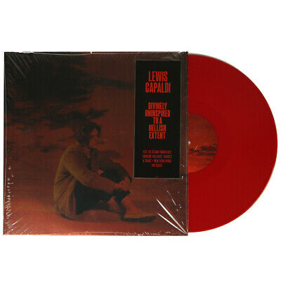 Lewis Capaldi Divinely Uninspired To A Hellish Extent Red Colour Vinyl Record LP