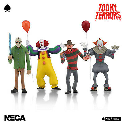 "NECA - TOONY TERRORS Full Set 6"" Action Figures [Pre-Order] • NEW & OFFICIAL •"