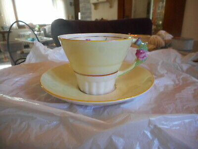 vtg paragon tea cup and saucer their majesties 1939