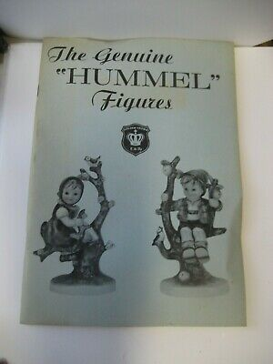 Rare 'the Genuine Hummel Figurines'/ebeling & Reuss Co Reference Book/booklet