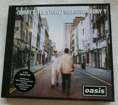 Oasis- (What's The Story) Morning Glory?- Deluxe 3CD set. Unplayed.
