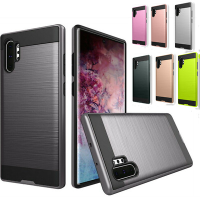 For Samsung Galaxy Note 10 Plus S10+ Hybrid Armor Shockproof Rugged Bumper Case
