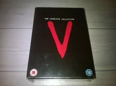 V The Complete Collection Marc Singer Michael Ironside Genuine R2 DVD New Sealed