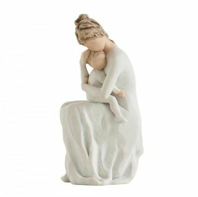 Willow Tree angel Figurine Ornament new boxed no 27596 for always mom & baby