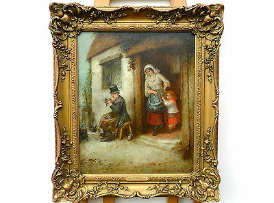 Mark William Langlois FL-1862-1873 A Fine 19th Century Oil On Canvas