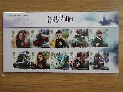 Harry Potter Royal Mail Presentation Pack 562 15 x 1st class stamps *NEW*