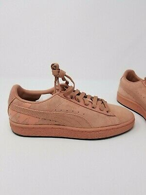 Details about Puma Mac Three Sin Suede Classic Casual Sneakers Burgundy Womens