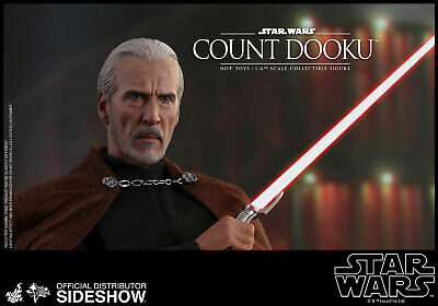 Hot Toys Count Dooku Star Wars Episode II Attack of the Clones 1/6 Scale Figure