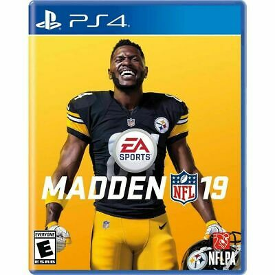 NEW Madden NFL 19 (Sony PlayStation 4, PS4) - Factory Sealed!