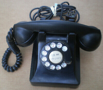 Vintage Western Electric Rotary Dial Telephone No. 302?