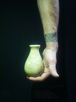 EGYPTIAN ANTIQUE ANTIQUITY Pharaoh Pharaonic Small Stone Vase 3150-2514 BC