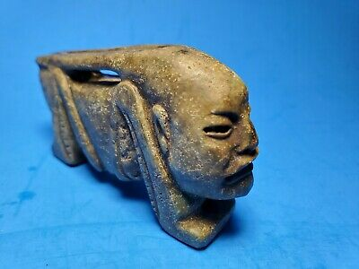 Pre-Columbian Mixtec Stone Whistle Cricket