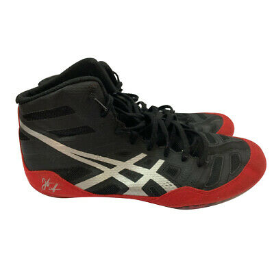 Asics JB Elite Men's Wrestling Shoes - (J3A1Y) EU 44 US 11 Black/Red