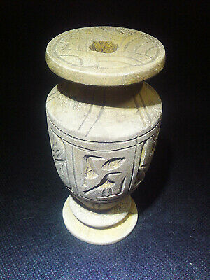 EGYPTIAN ANTIQUE ANTIQUITIES Pharaoh Pharaonic Small Stone Vase 3150-2512 BC