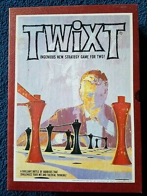 "1962 Vintage 3M Bookshelf Board Game ""Twixt"", Excellent Condition, Beautiful"