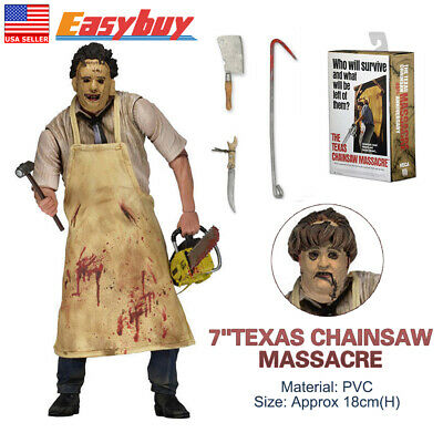 """7"""" The Texas Chainsaw Massacre Ultimate Leatherface Action Figure"""