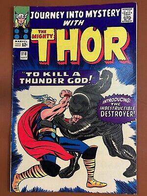 Journey Into Mystery Thor #118 Marvel Comics 1st appearance of the Destroyer