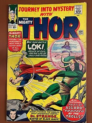 Journey Into Mystery Thor #108 Marvel Comics Silver Age