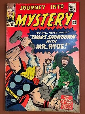 Journey Into Mystery Thor #100 Marvel Comics Silver Age