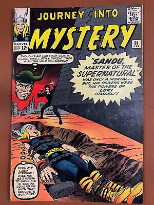Journey Into Mystery Thor #91 Marvel Comics Silver Age