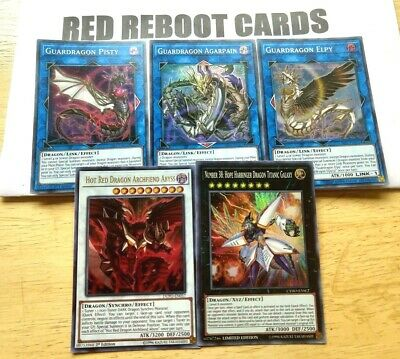 1x Guardragon Elpy, Pisty, Agarpain + Archfiend Abyss and Titanic Yugioh Mint