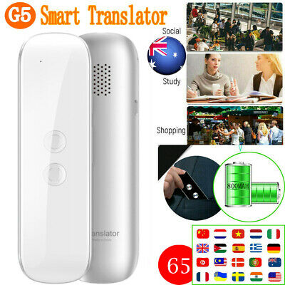 Translaty MUAMA Enence Smart Instant Real Time Voice 65 Languages Translator G5