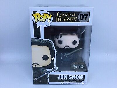 Funko Pop Game of Thrones Jon Snow Beyond The Wall Exclusive RARE Grail