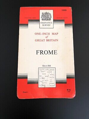 Ordnance Survey Map Seventh Series Sheet 166 Frome