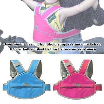 Motorcycle Baby Safety Seat Strap Belt Harness Chest Child Kids Safe Buckle