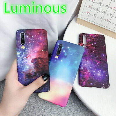 For iPhone XS Max XR 8 7 6s Plus Shockproof Luminous Star Rigid Thin Case Cover