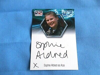 Doctor Who Autograph Card Sophie Aldred as Ace