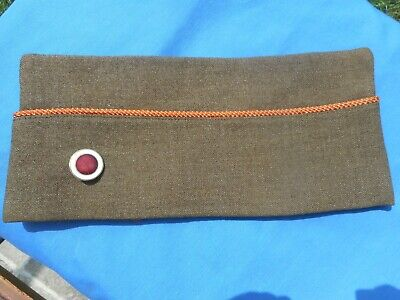 WW2 US 37th Division Signal Corps OVERSEAS CAP WOOL