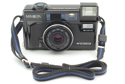 MINOLTA HI-MATIC AF2 MD 38mm F/2.8 POINT & SHOOT FILM CAMERA [EXC+++++] JAPAN