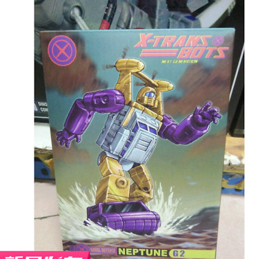 New Transformers X-Transbots MM-XIII MM-12 G2 Neptune in stock MISB