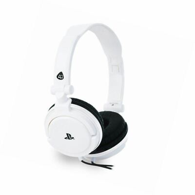 PRO4-10 Officially Licensed Stereo Gaming Headset - White (PS4/PSVita)