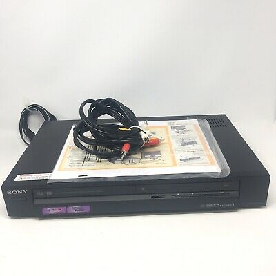 SONY RDR-GX355 DVD Player Recorder Burner HDMI Upscale High definition