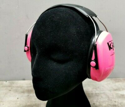 PELTOR KID EAR PROTECTORS Muffler Sound Noise Cancelling PINK Over Ear Pre-Owned