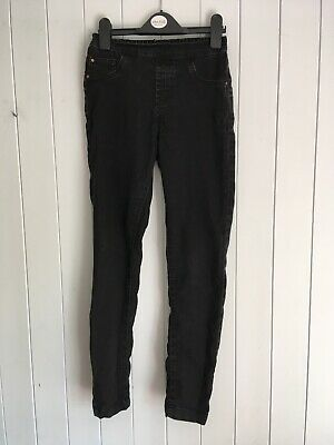 Girl's Jeggings size 11-12 years black/charcoal Miss E-vie