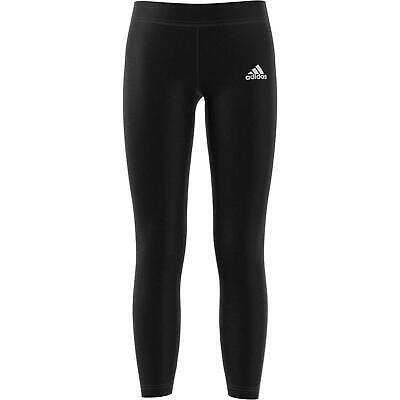 Adidas Yg Must Have 3 Stripes Tight Girl's Black Leggings Ed4620