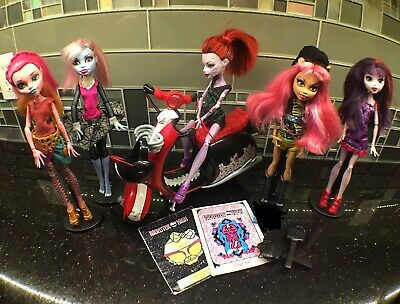 Monster High Doll Lot Scooter Accessories 💘