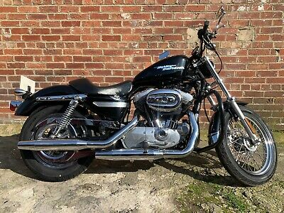 2004 Harley-Davidson Sportster Xlh 883 Black **Loads Of History** **Look**