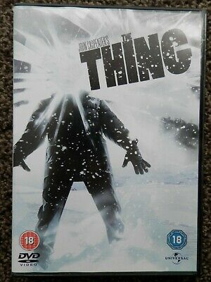 The Thing DVD John Carpenter  1982 version
