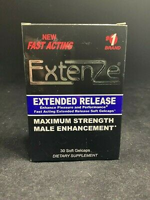 ExtenZe Extended Release - Max Strength Male Enhancement 30ct | Exp: 07/2020+