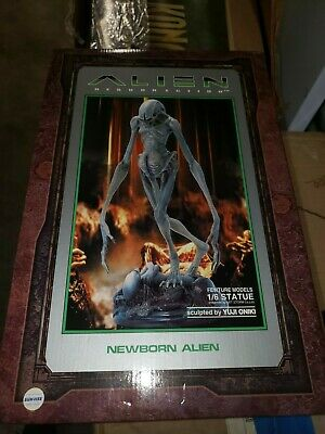 Very Rare, Fewture Models, Newborn Alien Resurrection 1/6 Scale Full Size Statue
