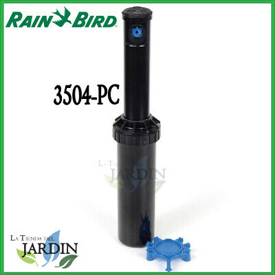 "Aspersor Rain Bird 3504 Pc Aspersores 3500 Rosca 1/2"" 4,6 A 10,7M Rainbird Riego"