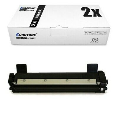 2x Eurotone Eco Toner Compatibile per Brother DCP-1610-W DCP-1512-A MFC-1810